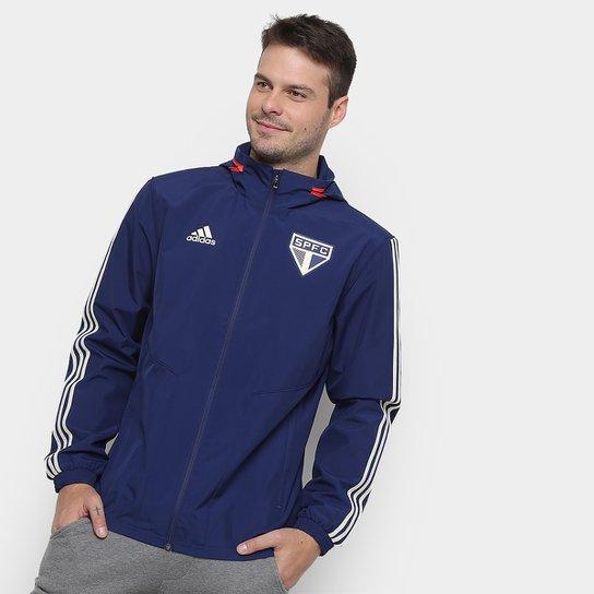 513174b4c56 Jaqueta São Paulo Adidas Masculina - Azul - Compre Agora