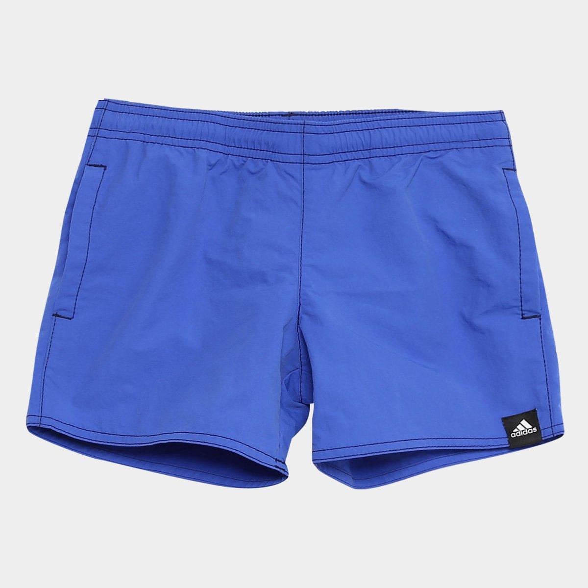 3f93c5489a8 43%OFF Bermuda D Água Adidas Solid Juvenil Masculina