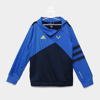 5e26dad7ea0 Jaqueta Infantil Adidas YB HZ TOP Masculina