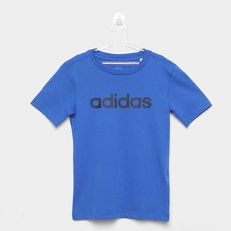 d51b32f44 Camiseta Infantil Adidas YB LIN TEE Masculina