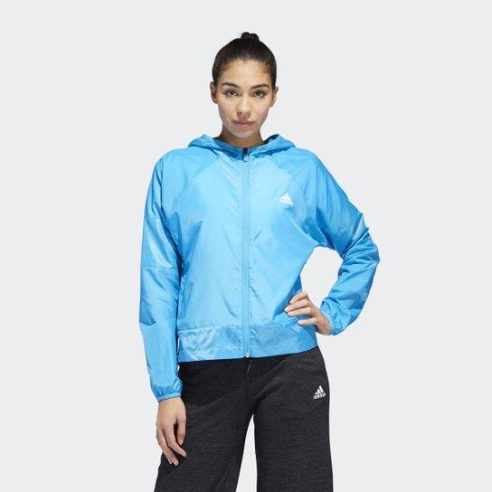 4a1a19ae1eb Jaqueta Corta-Vento Sport 2 Street Multicores Adidas - Azul - Compre ...
