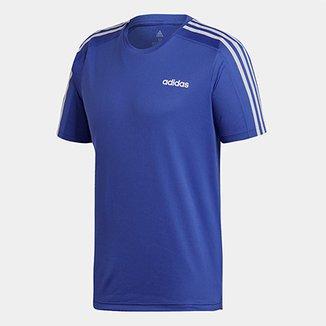 38d160391 Camiseta Adidas Design 2 Move 3 Stripes Masculina