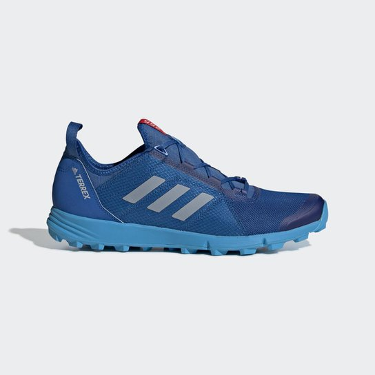 ef55bf93fd Tênis Adidas Terrex Agravic Speed Masculino - Azul - Compre Agora ...