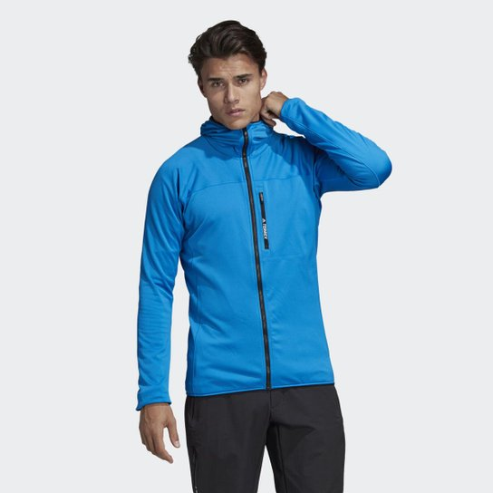 daab02f43 Jaqueta Adidas Capuz TraceRocker Fleece Masculina - Compre Agora ...