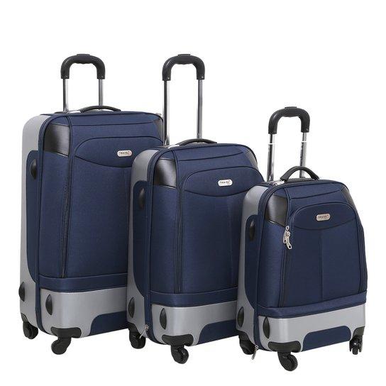 2fb29cd606988 Kit Mala de Viagem Swiss Move Duo 3 Peças - Compre Agora
