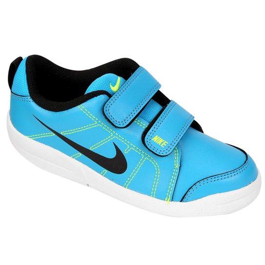 72531bd16f6e5 Tênis Infantil Nike Pico Lt - Azul Turquesa e Preto - Compre Agora ...
