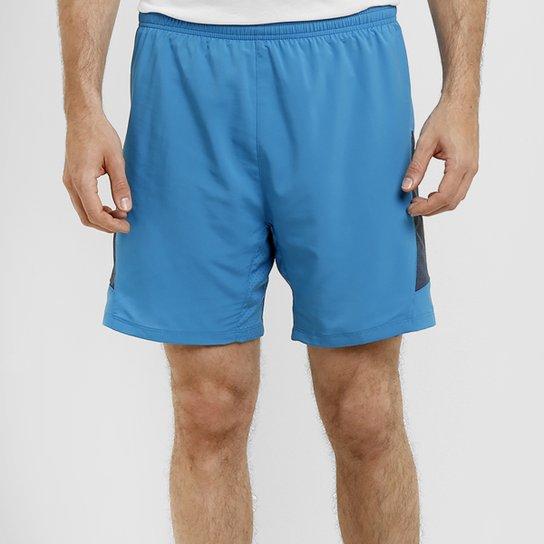 8aba90eb4 Short Nike Pursuit 2 em 1 7 pol. - Azul Turquesa+Azul