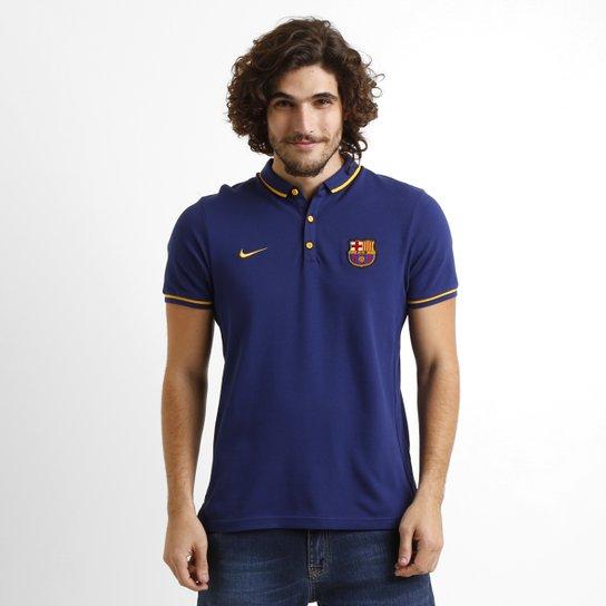 c37f90eb12 Camisa Polo Nike Barcelona League - Compre Agora