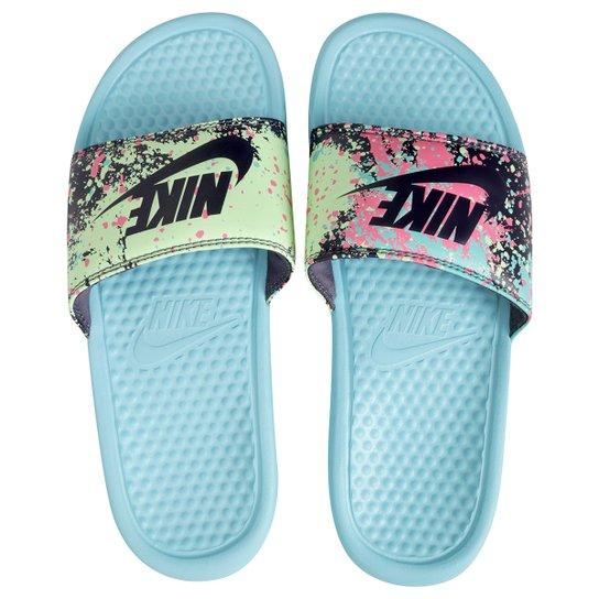4f3f35827 Sandália Nike Benassi Jdi Print Feminina - Compre Agora