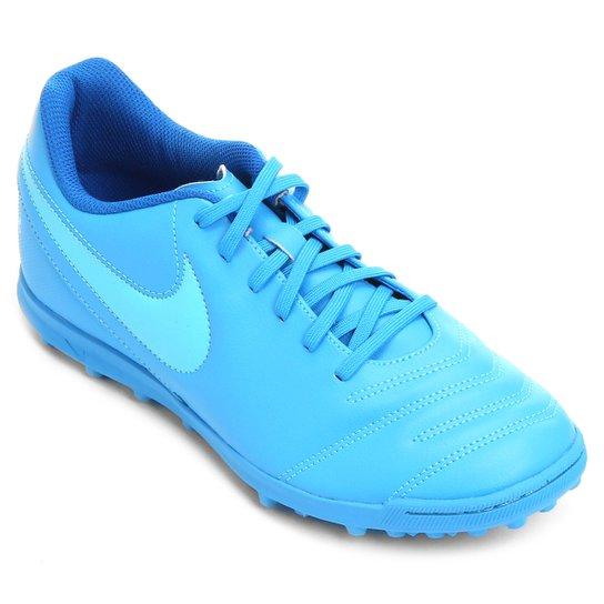 Chuteira Society Nike Tiempo Rio 3 TF Masculina - Compre Agora ... 2ee1ab5212324