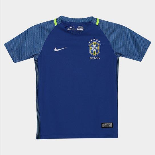 e4257a86465c2 Camisa Seleção Brasil Infantil II 2016 s nº Nike - Compre Agora ...