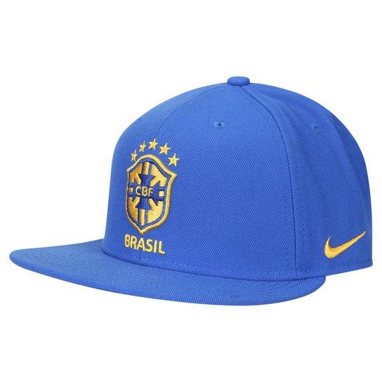 Boné Nike Brasil CBF Seasonal True - Compre Agora  2cca5d8734e