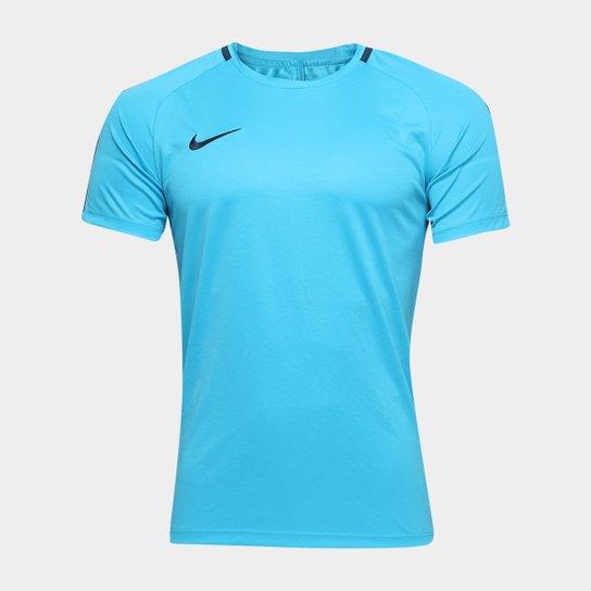 424257b17679e Camisa Nike Academy Masculina - Azul - Compre Agora