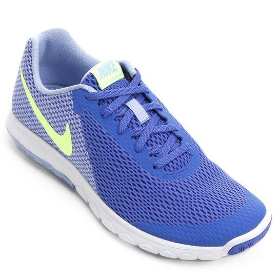Tênis Nike Flex Experience Rn 6 Feminino - Azul - Compre Agora ... 1179fe25c5e62