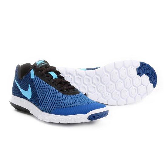 Tênis Nike Flex Experience Rn 6 Masculino - Azul - Compre Agora ... 0fa37e7875ff4