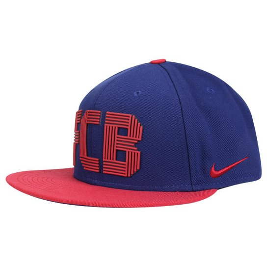 Boné Barcelona Nike Aba Reta - Compre Agora  7f194e6cdbd
