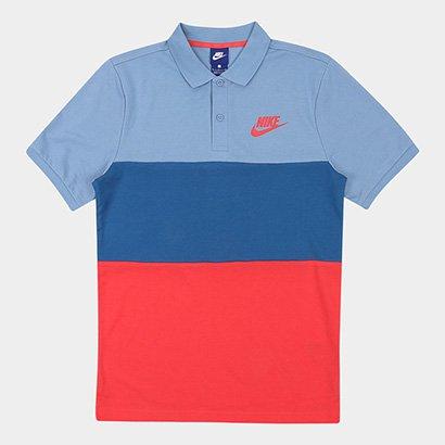 Camisa Polo Nike Nsw Pq Matchup Clrblk Masculina