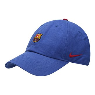 Boné Barcelona Nike Aba Curva H86 Core 494f0c9140e