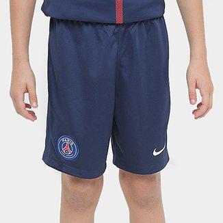 5418ee763 Calção Paris Saint Germain Infantil Home 17/18 Nike