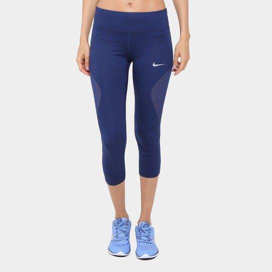 Calça 3 4 Nike Power Crop Racer Cool Dri-Fit Feminina - Compre Agora ... fb7b7df35de14