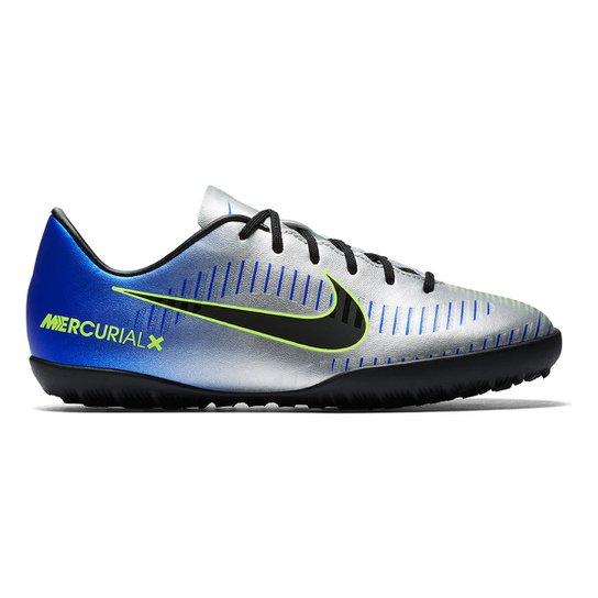 1700712df0a8f Chuteira Society Infantil Nike Mercurial Victory 6 NJR TF - Compre ...