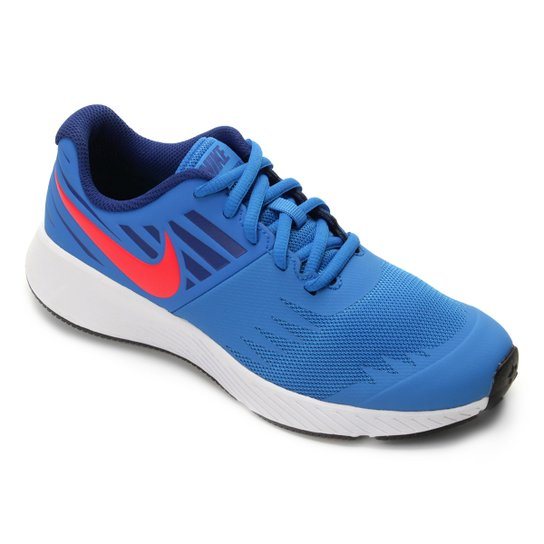 1716eae4b Tênis Infantil Nike Star Runner GS - Azul e Vermelho | Netshoes