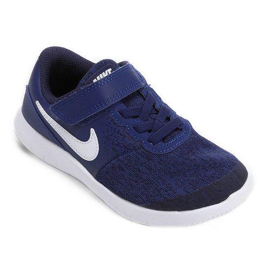 Tênis Infantil Nike Flex Contact Psv - Azul - Compre Agora  b0abb1c3c7315