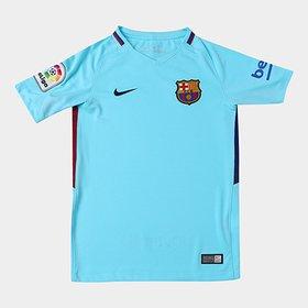 8a011ae6d86be Camisa Barcelona Home 17 18 Nº 10 Messi Torcedor Nike Masculina ...