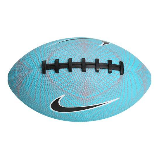 Bola de Futebol Americano Nike 500 Mini 4.0 FB 5 - Tamanho 3 - Azul ... 6ce0da9a61343