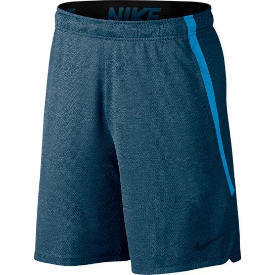 Bermuda Nike Dry 4.0 Masculina - Azul e Preto - Compre Agora  914e58c56a42b