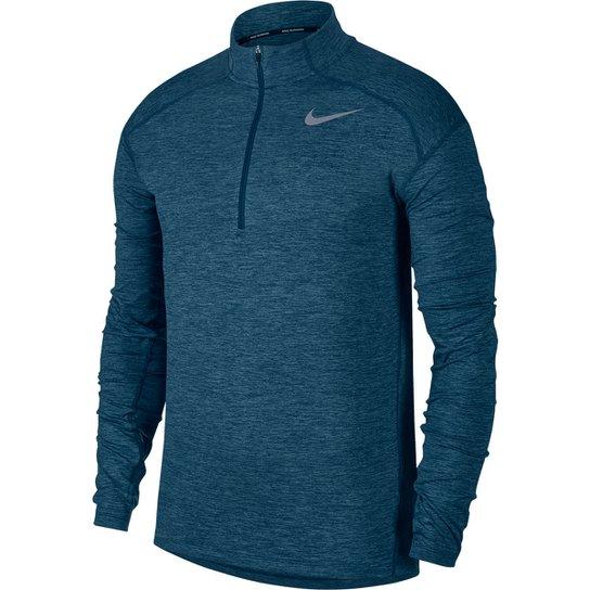 Camiseta Nike Dry Element Top Half-Zip Masculina - Compre Agora ... 82096e7cb54