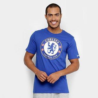 000a8232f2eac Camiseta Chelsea Evergreen Crest Nike Masculina