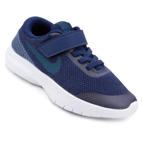 Tênis Infantil Nike Flex Experience Run 7 - Azul - Compre Agora ... b1e83a9744b02