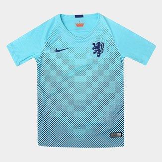 6d4438cb9e Camisa Seleção Holanda Infantil Away 2018 s n° Torcedor Nike