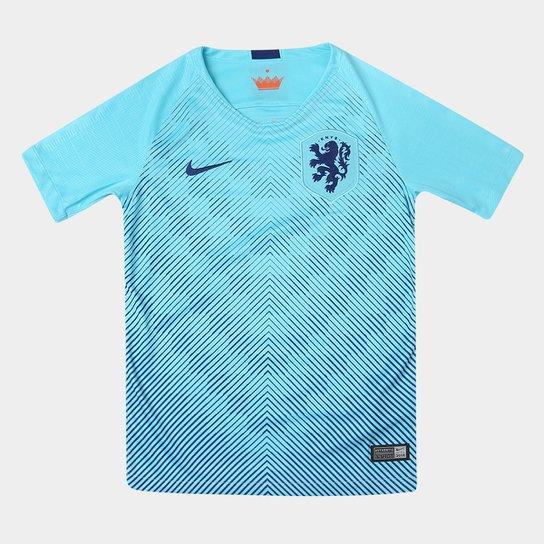 cd8f925a9 Camisa Seleção Holanda Infantil Away 2018 s n° Torcedor Nike - Azul