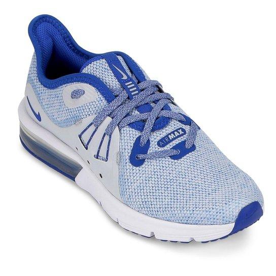 super cute f5590 d5fbc Tênis Infantil Nike Infantil Air Max Sequent 3 BG Masculino - Azul