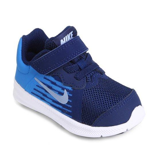 a098dee9434 Tênis Infantil Nike Downshifter 8 TDV Masculino - Azul - Compre ...