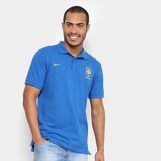 Camisa Polo Seleção Brasil 2018 Nike Masculina 47bf29507c2b7