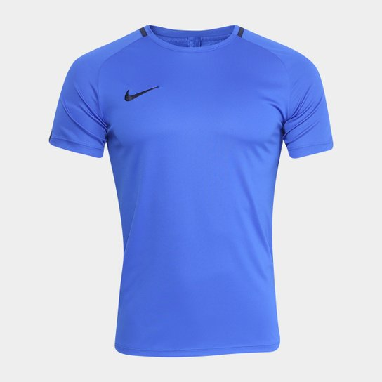 1226bbb3c2219c  Camisa Nike Dry Academy Top SS Masculina - Azul - Compre  Agora . cccc81f757a2a