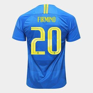 b2d4702057ada Camisa Seleção Brasil II 2018 nº 20Firmino - Torcedor Nike Masculina