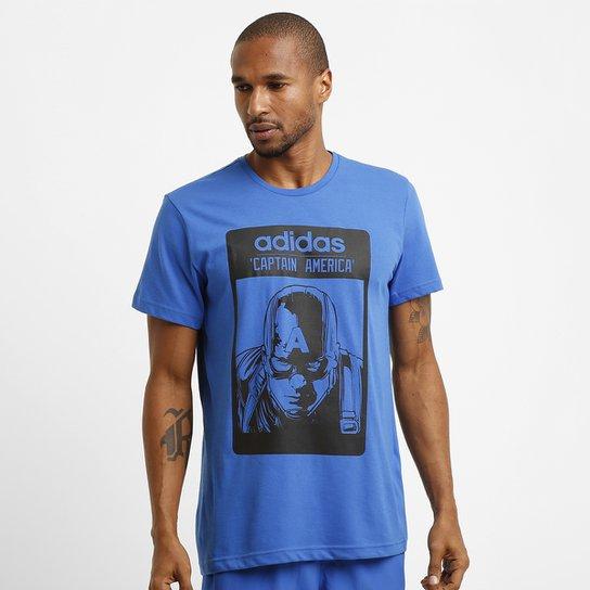 Camiseta Adidas Capitão América - Compre Agora  6d64b57d9b7f3