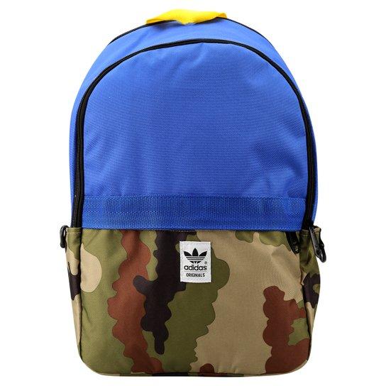 4526d92c8 Mochila Adidas Oddcamo Bp - Azul+Preto