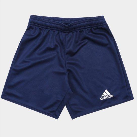 Calção Infantil Adidas Parma 16 - Marinho - Compre Agora  7031a6b5eb354