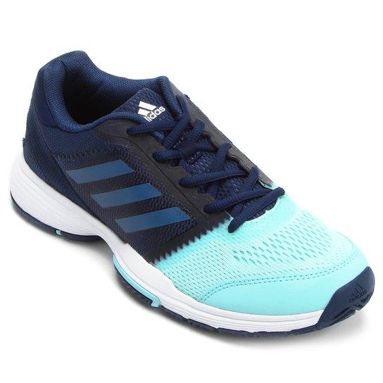 f032ab46d4e Tênis Adidas Barricade Club Feminino - Marinho e Azul - Compre Agora ...