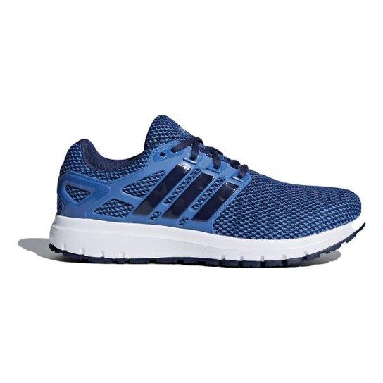 e89a590cff Tênis Adidas Energy Cloud Masculino - Azul e Preto - Compre Agora ...
