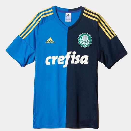 Camisa Palmeiras Infantil III s nº Torcedor Adidas Masculina - Azul+Marinho a74a4a54c2310
