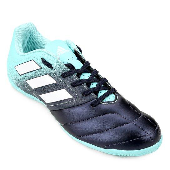 11c5851b8d Chuteira Futsal Adidas Ace 17.4 IN - Azul Claro e Marinho