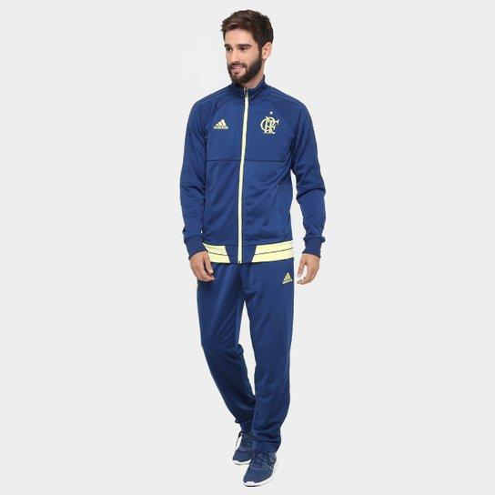 Agasalho Flamengo Adidas Viagem Masculino - Compre Agora  6f001ae993ed8