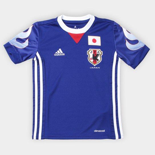 28888fa826 Camisa Seleção Japão Infantil Home 2018 s nº Torcedor Adidas - Azul