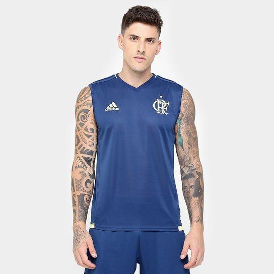 Camiseta Regata Flamengo Adidas Treino Masculina - Compre Agora ... 11a480b0f38